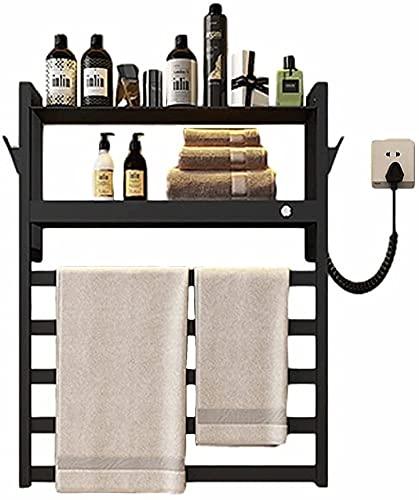 LSWY Toalla multifuncional Toallero Smart Toalla eléctrica Rack para baño de acero...