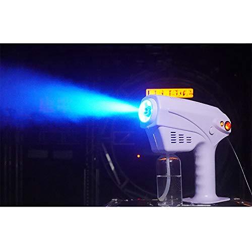 Pulverizador Fino, pulverizadores Desinfección y humidificación de Coches y Habitaciones Pulverizador de Vapor de Mano Nano Pistola Azul