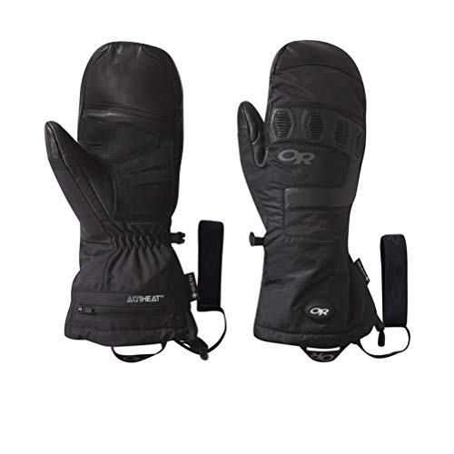 Outdoor Research Lucent Heated Sensor Mitts black XS