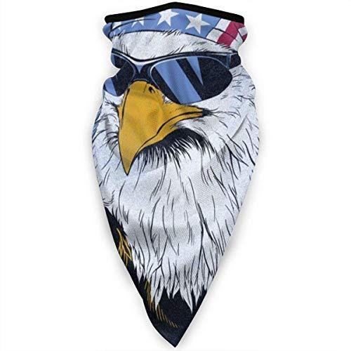 Nother Patriotic with Gafas de sol Polaina Calentador a prueba de viento máscara facial máscara al aire libre