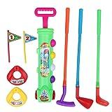 BESPORTBLE Set di Mazze da Golf Toy Set di Golf per Bambini Bambino Ragazzi Ragazze Indoor...