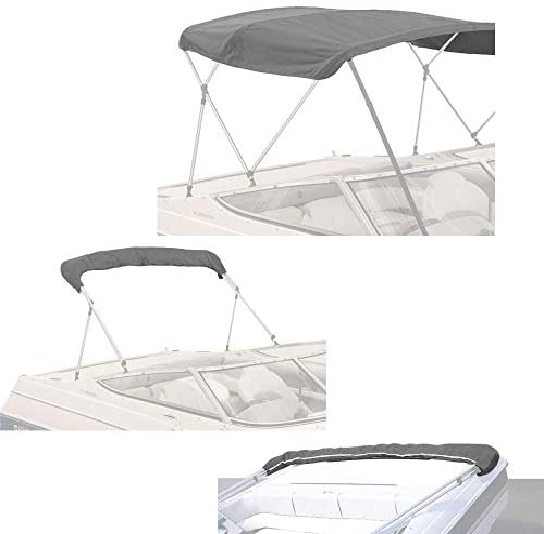 Budge SunBlok 3 Bow Round Bimini Replacement Tops Multiple Sizes /& Colors