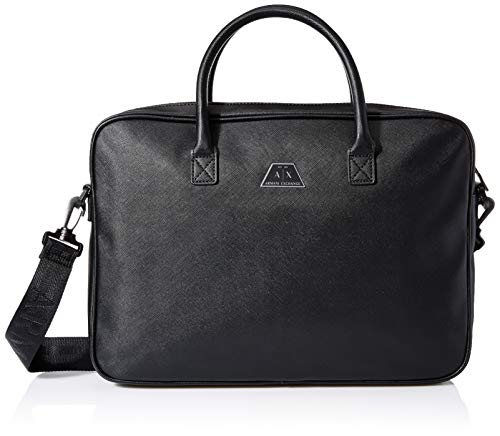 Armani Exchange heren aktetas Logo Briefcase