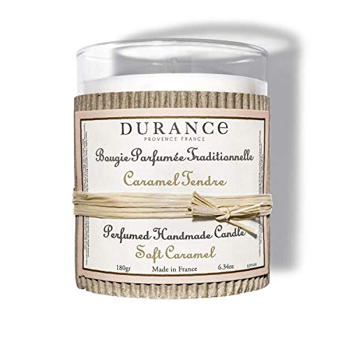 DURANCE Bougie parfumée Caramel Tendre