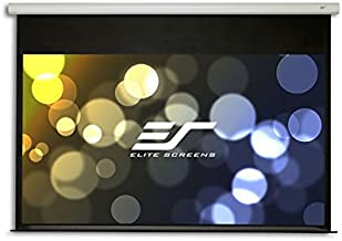 Elite Screens Spectrum2, 110-inch 16:9, 12-inch Drop, Electric Motorized Drop Down Projection Projector Screen, SPM110H-E12