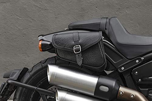 günstig Ledertasche mit Schnellöffnung für Harley Davidson Fat BOB, Lowrider S, Street BOB,… Vergleich im Deutschland