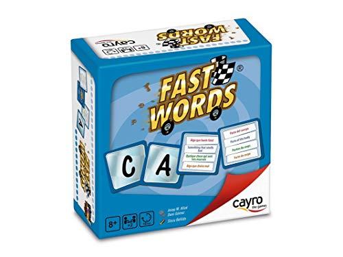 Cayro - Fast Words - Juego de Palabras - Juego de Mesa - Desarrollo de Habilidades cognitivas e lingüísticas- Juego de Mesa (7004)