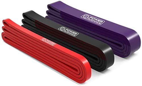 POWER GUIDANCE Pull Up Assist Bands Heavy Duty Resistance Band Mobility & Powerlifting Exercise Bands, Perfect for Body Stretching, Powerlifting, Resistance Training Set of 3