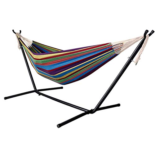 Hammock with Stand 2 Person Heavy Duty Hammock,Double...