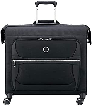 Delsey Executive 20 Inch 4-Wheel Spinner Garment Bag
