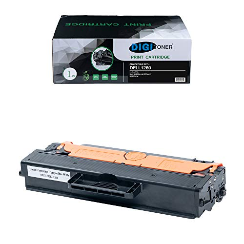 TonerPlusUSA High Yield New Toner Cartridge Replacement for Dell 1260 (Dell 331-7328) B1260dn/29PPM/B1260dnf/MFP/29PPM/B1265dfw/29PPM/B1265dnf/29PPM (1 Pack)