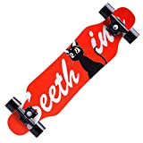 LLQQ Skateboarding Longboards Adults Skateboard...