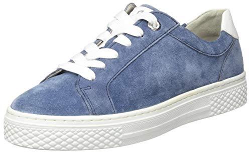 Sioux Damen Somila-704-H Sneaker, Blau (Marineblau 008), 42 EU
