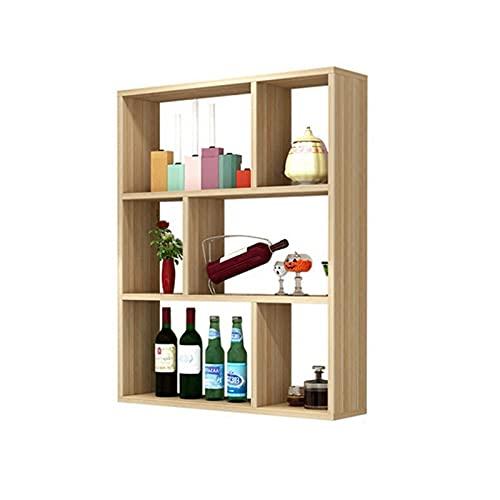 Estante de vino colgante de pared creativa, gabinete de vino colgante, estante de decoración de vino de pared