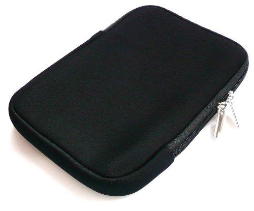 Emartbuy® Schwarz Wasserabweisende Weiche Neopren Hülle Schutzhülle Sleeve Hülle mit Reißverschluss geeignet für Msi Windpad 100W Tablet (10-11 Zoll eReader/Tablet / Netbook)