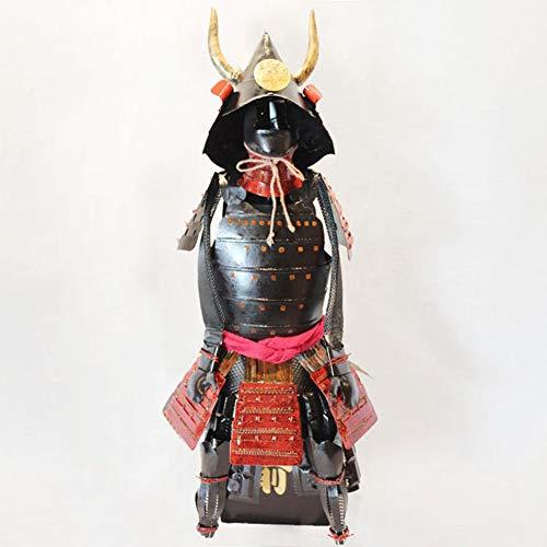 ZSPXIN Estados de Combatientes japoneses Samurai período Armadura Modelo,Esculturas estatuas de Figuras no usable-A