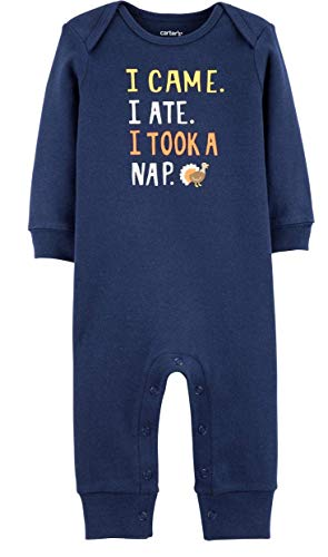 Carter's Unisex Baby Thanksgiving Day Jumpsuit