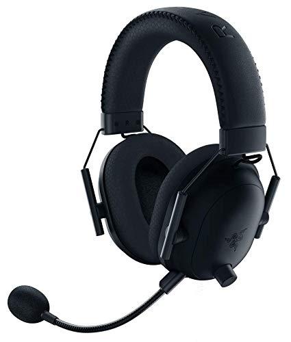 Razer ワイヤレス ゲーミングヘッドセット BlackShark V2 Pro 3.5mmアナログ カスタムダイナミック50mmドライバ 単一指向性マイク ノイズキャンセリング 軽量320g PC PS4 Xbox Switch 【日本正規代理店保証品】 RZ04-03220100-R3M1