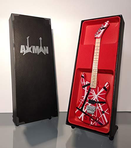 Eddie Van Halen (Van Halen) - Réplica de guitarra en miniatura