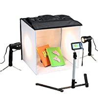 Square Perfect 3085 SP200 Professional Quality 16-Inch Studio In A Box Light Tent Cube for Quality Photography [並行輸入品]