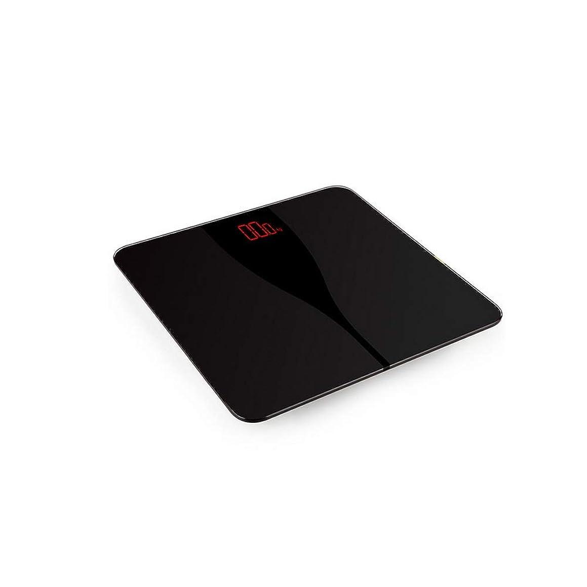 によってロッジ村HUCHAOQIXIU デジタル体重計、高品質8mm強化ガラス、超ワイドプラットフォーム、読みやすいバックライト付き、400ポンド、バッテリースタイル (Color : Black)