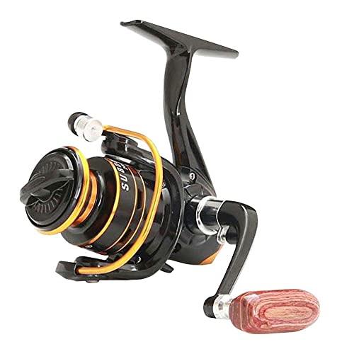 apofly Carrete De Pesca High Mini Speed ??Metal Spool Spinning Reel Salew Agwater Carp Reel Su800