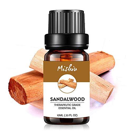KOBWA 10ML Aceite Esencial De Sandalwood, 100% Puro Extractos De Plant