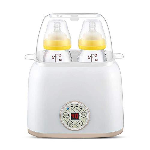 CMmin Clean Sterilisator, 2-in-1 automatische intelligente thermosfles voor verwarming en isolatie, Easy Use (verwijdert 99,9% van de bacteriën) bruin