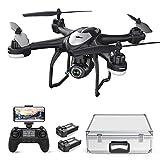 Potensic Drone GPS T18 FPV con Telecamera 120 ° Grandangolo Regolabile HD 1080P Dual GPS...