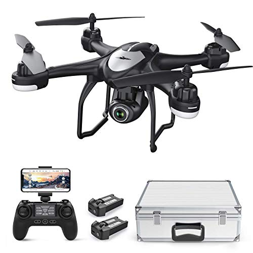 Potensic Drone GPS T18 FPV con Telecamera 120  Grandangolo Regolabile HD...