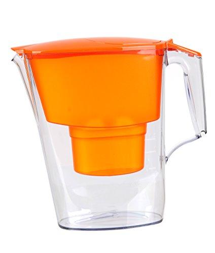 AQUAPHOR 4744131010786 Time - Jarra con Filtro y Cartucho B100-25 Maxfor, Color Naranja