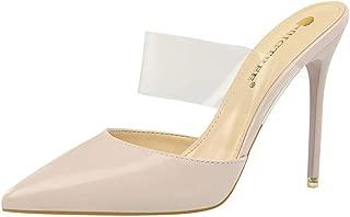 BalaMasa Womens AFL00319 Pu Heeled Sandals