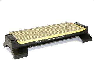 DMT W250EF-WB 10-Inch DuoSharp Bench Stone - Extra-Fine/Fine With Base