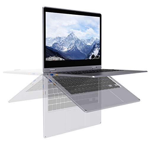 XIDU PhilBook Pro PC Portable 11.6 Pouces IPS 2K Ultrabook Ordinateur Portable 2 en 1 Tactile - Gris sidéral (Intel J3355, 6Go RAM, 128Go SSD, Intel HD Graphics, Windows 10)