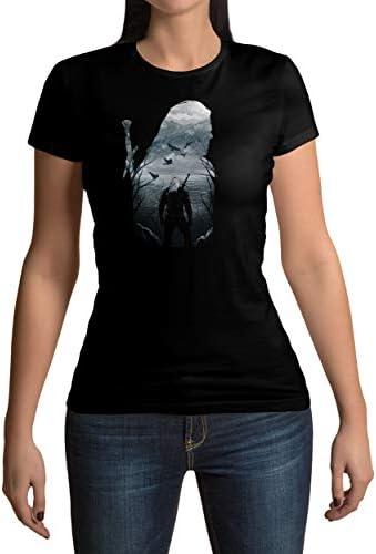 Lootchest The Witcher - Camiseta Negro Large