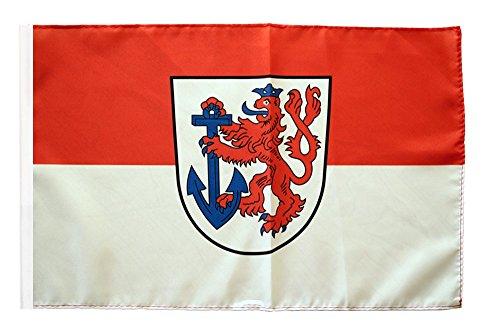 Flaggenfritze® Flagge Deutschland Stadt Düsseldorf - 30 x 45 cm