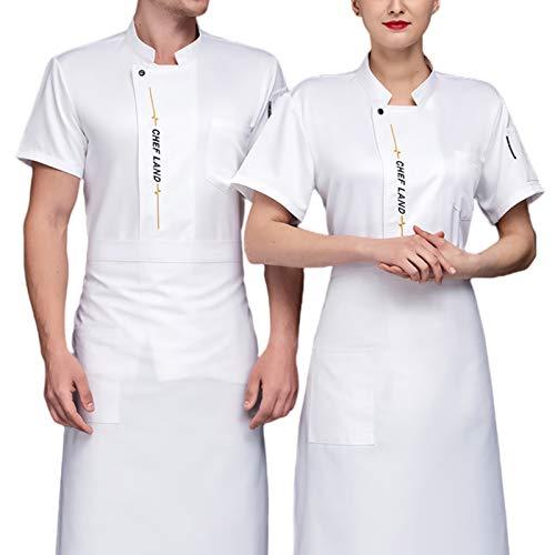 QQA Herren Koch Uniform Hotel Arbeitskleidung Kostenloses Gedrucktes Logo