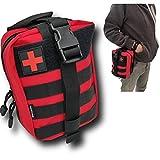 Trousse de premiers secours tactique (vide) + petite marque FRANCAISE s'attache à la...