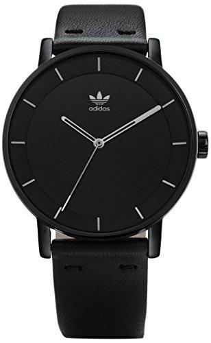 Adidas Damen Analog Quarz Uhr mit Leder Armband Z08-2345-00