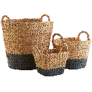 Dippy Gray & Natural Wicker Baskets | Pier 1 Imports