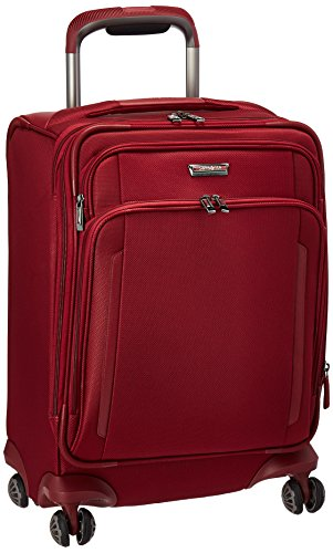 Samsonite Silhouette XV Softside Luggage with Spinner Wheels, Napa Red, Carry-On 21-Inch