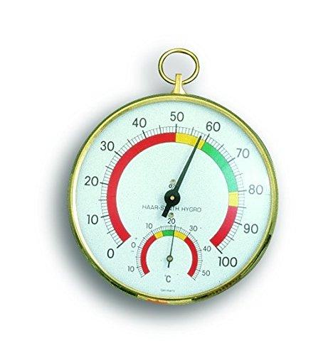 TFA 45.2000-Haar-Hygrometer metallisch Kunststoff