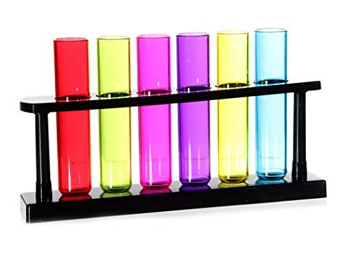 Borrelglaasjes set van 6 test tubes