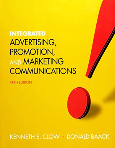 Integrated Advertising, Promotion, and Marketing...