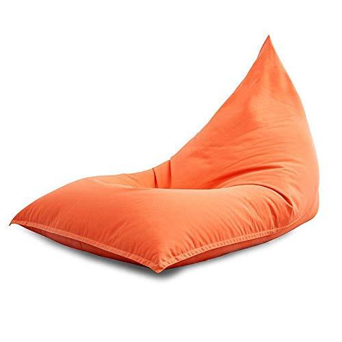 WK Lazy Sofa Sofa Sessel Bett for Pool Camping Im Freien Lazy Bag Wolke Couch Sitzsäcke for Erwachsene (Farbe: Orange, Größe: M) lili (Color : Orange, Size : Medium)