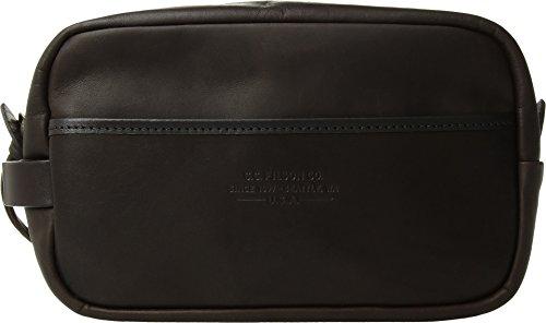 Filson Weatherproof Leather Travel Kit Sierra Brown One Size
