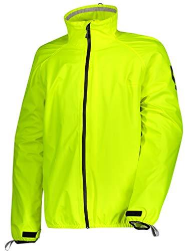 Scott Ergonomic Pro DP Motorrad/Fahrrad Regenjacke gelb 2020: Größe: L (50/52)