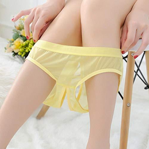 Ropa interior amarilla para mujer