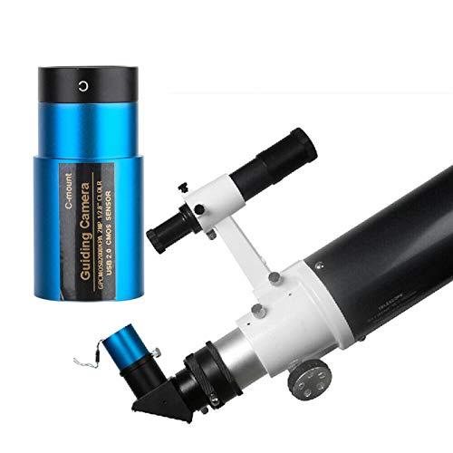 DAUERHAFT con Interfaz estándar de 1,25 Pulgadas Fotografía astronómica Cámara astronómica para guiado automático y múltiples Tipos de astrofotografía para la Luna