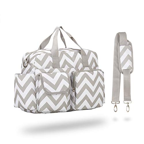 incarpo Large Capacity Nappy Waterproof Diaper Shoulder Bag Mummy Feeding...